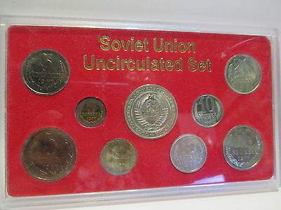 1978 Soviet Union Uncirculated Set Of Coins