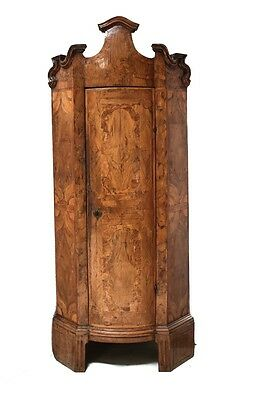 18th Century Dutch Architectural Corner Cabinet