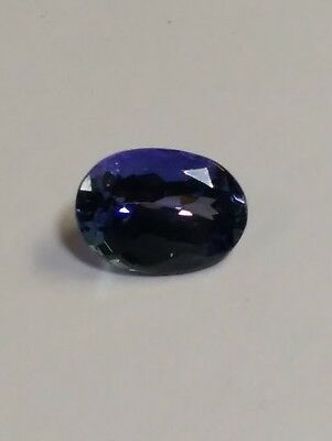 4.00ct Oval Shape Natural Fancy Color TANZANITE - Great 4 Recutting!