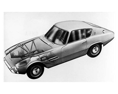 1963 Fiat 1500 GT ORIGINAL Factory Photo oub2363