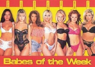 BABES OF THE WEEK ~ RED 24x36 PINUP POSTER NEW/ROLLED!