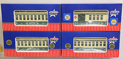 Usa Trains Union Pacific 4 Car Passenger Car Set - Boxed - G Gauge