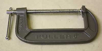 """Fuller Model# 450-0766 6"""" Inch C Clamp - Outstanding Condition"""