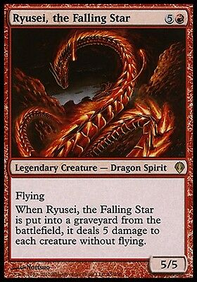 Ryusei, the Falling Star ~ Archenemy ~ Excellent+ ~ Magic The Gathering