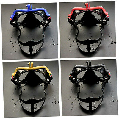 Underwater Camera Anti Fog Diving Mask Snorkel Swimming Goggles for GoPro #S