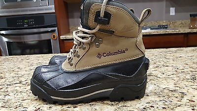 Womens Columbia Bugabootoo Leather Winter Snow Waterproof-Boots Size size 7