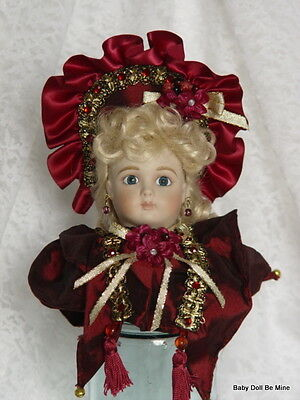 NIB ~ Retired ~ Marie Osmond * Chalise * Victorian Head ~ Repro of Cody Jumeau