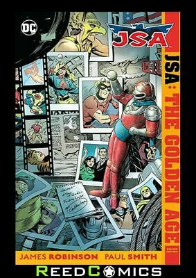 JSA THE GOLDEN AGE DELUXE EDITION HARDCOVER New Hardback Collects 4 Part Series