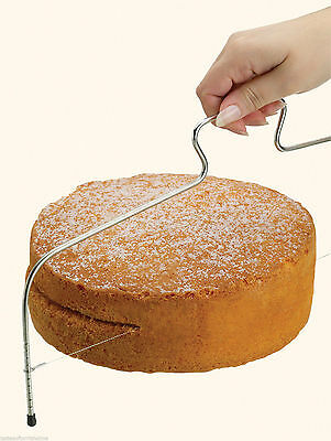 Kitchen Large Sponge Cake Adjustable Layer Slicer Cutting Levelling Wire