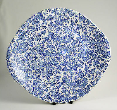 BURLEIGH Blue Chintz BREAD & BUTTER PLATE Brand New & Unused