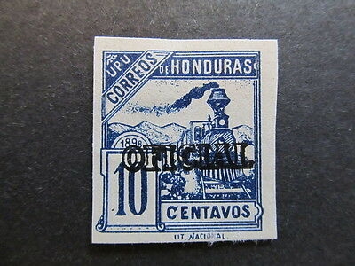 A4P11 Honduras Official Stamp 1898-99 10c mint no gum old forgery #13