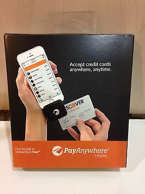 Brand New in box Pay Anywhere Mobile Credit Debit  Card Reader