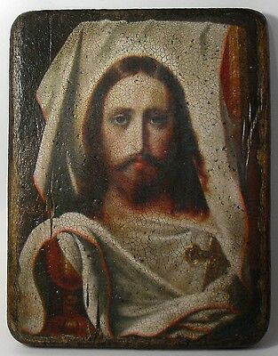 Handmade copy ancient ORTHODOX ICON of Holy Face of Jesus Christ 25S