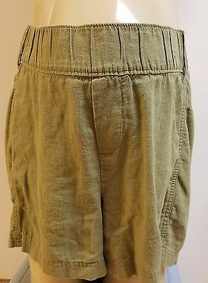Old Navy Maternity Linen Shorts Size XXL