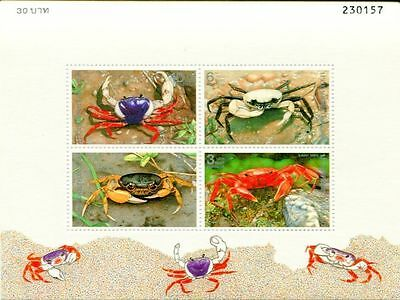 Thailand 1994 Crabs MS MNH