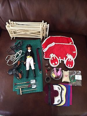 Breyer Model Traditional Horse English Saddle Dressage Doll Accessories Blankets