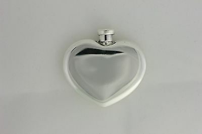 Tiffany & Co. Sterling Silver 925 Heart-Shaped Perfume Bottle