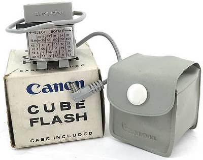 Canon Cube with box case instructions  for Flash Cubes