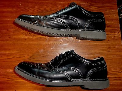 DRESSPORTS ENGINEERED BY Rockport BLACK SHOES MEN'S SIZE 10 1/2 M