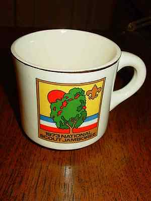 Vintage Collectible Boy Scouts 1973 National Scout Jamboree Coffee Mug Cup