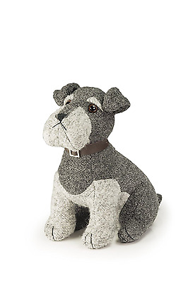 Dora Designs - Sugar Bear The Schnauzer - The Canine Collection - Doorstop