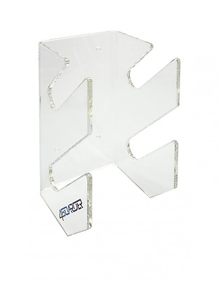 DOUBLE board rack wall holder mount for 2 wakeboards, snowboards, kiteboards, lo