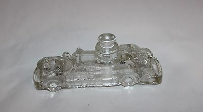 Vintage Glass Candy Container Fire Truck