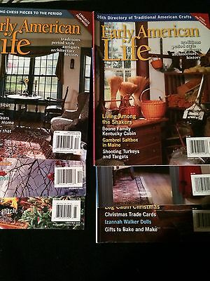 Early American Life Magazine Lot Of 6 Issues!! 2006 2011 2012 2016