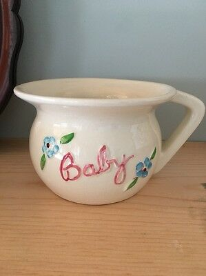 Vintage BABY Ceramic Chamber Pot