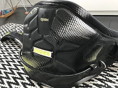ION Apex XL Kite Harness Black and Yellow accents