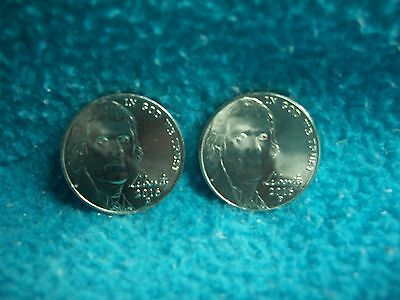 2016 P & D Jefferson Nickel Uncirculated, 2 Coins