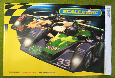 SCALEXTRIC 2003 ~ 44th Edition Catalogue ~ NEW