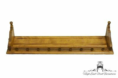 ETHAN ALLEN Heirloom Nutmeg Maple 30″ Gallery Wall Shelf