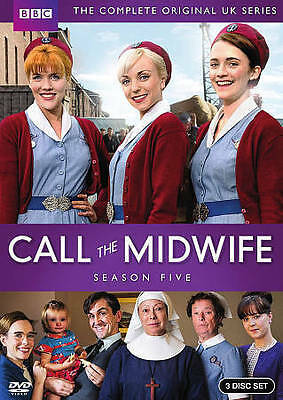 Call the Midwife: The Complete Fifth Season 5 (DVD, 2016, 3-Disc Set)