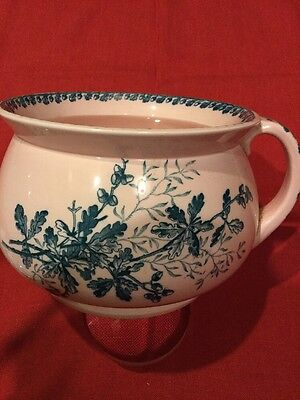 Pink Chamber Pot With Lid