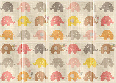 "Parklon Portable Folding Mat ""Little Elephant"", made in Korea, free shipping"