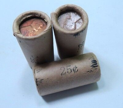(1) Premium - Half Wheat Penny Roll - Early Dates! // 25 Coins