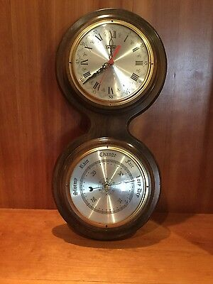 Caravelle Clock and Barometer Set - two in one addition to your home