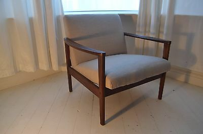 Stunning Vintage Danish Teak Lounge Chair