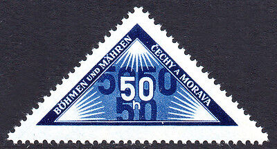 GERMANY Nazi Occupations BOHEMIA MORAVIA 1939 Personal Delivery Issue Fine MNH