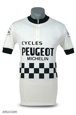 Peugeot Esso vintage wool jersey, new, never worn M