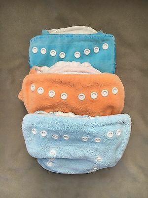 Thirsties Size 1 Fitted Cloth Diaper Lot- Girl or Boy