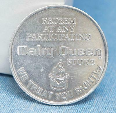 Dairy Queen Free Sundae or 40 Cents Off Trade Token Coin dq
