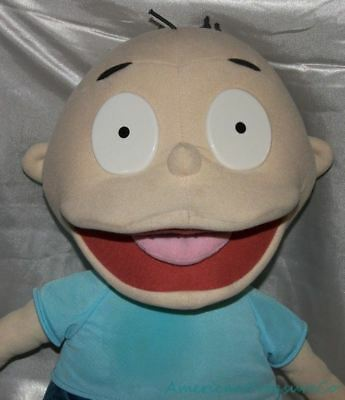 "1990s Mattel Nickelodeon Big Huge Plush 27"" Rugrats Tommy Pickles Soft Doll"
