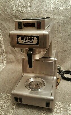 vintage Commercial BUNN 3 warmer burner OT automatic COFFEE maker Brewer EUC
