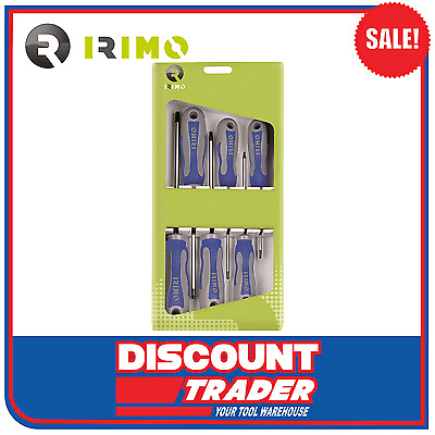 Irimo by Bahco TORX Screwdriver Set 6 Piece - Made in Spain - 459-6B-C