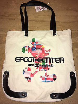 Disney Epcot Mickey Mouse Tote Bag New 2017