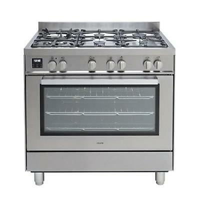 Pacini PC90S Freestanding 90cm Oven GAS burner Electric Oven.3 years warranty.