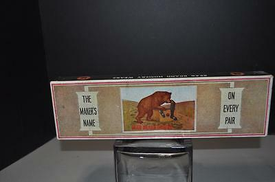 Bear Brand Hosiery Advertising Box with Product