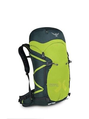 Osprey Mutant 38L Alpine Hiking Rucksack Backpack- Dyno Green - M/L